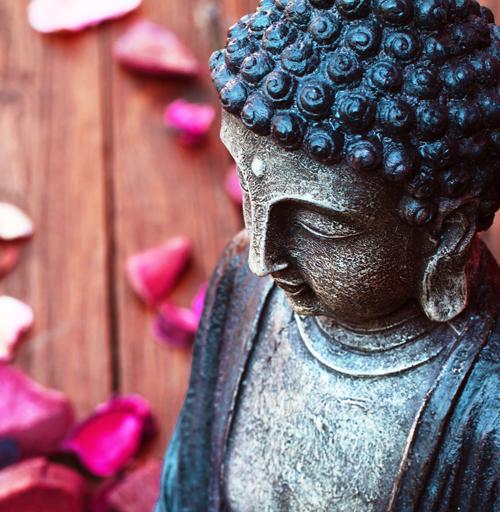 Dr. Faulenbach Buddha seitlich
